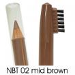 natural brow waterproof eyebrow liners NBT02