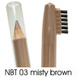 natural brow waterproof eyebrow liners NBT03
