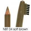 natural brow waterproof eyebrow liners NBT04