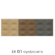 waterproof eyebrow colourER01