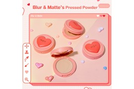 Blur&Matte Pressed Powder